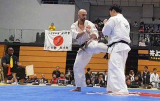Campeonato Mundial Kyokushinkai Tezuka Group. Fukuoka, Japón. Marzo 2019.